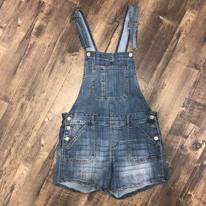 Overall Jean shorts